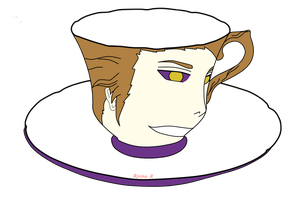 Aizen Teacup by lily-Owl