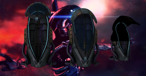 Geth Pod from Mass Effect 3 for XNALara by Melllin