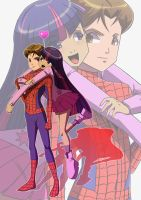Peter Parker x Twilight Sparkle - Simple Love by Jamal2504