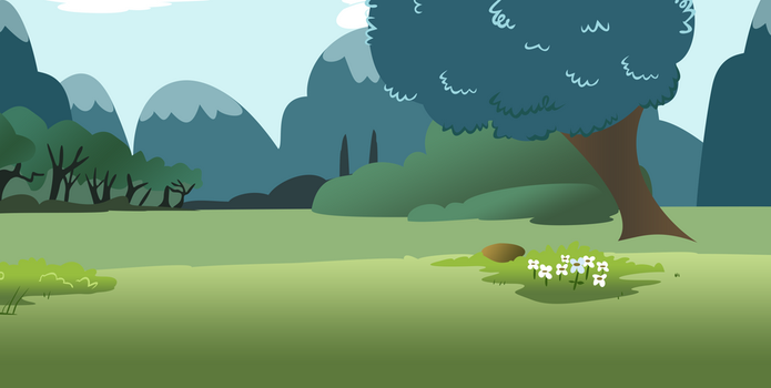 Feild - Part of the Fluttershy's Yard file by Snuggle-Pounce