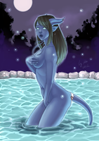 [COM] WoW: Nare in Darnassus by Shunkaku