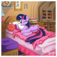 Twilight Sparkle - Bed 2 by mysticalpha