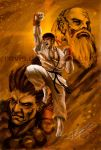 Street Fighter : Ryu by Ravis