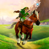 Link Epona FB Avatar by Major-Link
