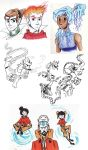 Korra Tumblr Sketch Dumplr by Azymmuth