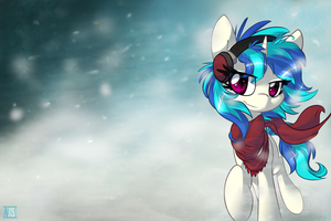 Out in the Snow by Neko-Snicker