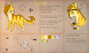 Goldy July Reference sheet 2013 by campinq