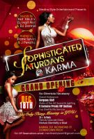 Sophisticated Saturdays Flyer by AnotherBcreation