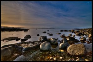 Rocky Waters by tjoren