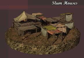 Slum Village by Poopgoblyn