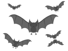 Gift: Black Bats by apparate