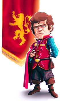 Tyrion!! Game of Thrones by VonDitty