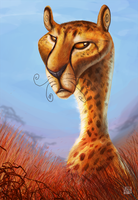 Cheetah (Speed Paint Link Added) by CarolineRaquel