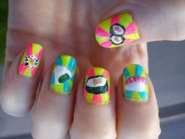 Sushi nails by EnelyaSaralonde