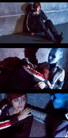 The night before the end [Mass Effect] by 2ravens