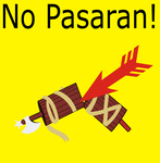 No Pasaran Poster by Party9999999