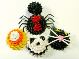 Duct Tape Halloween Rings by QuietMischief