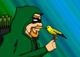 Green Arrow And Canary by lyndseyhage