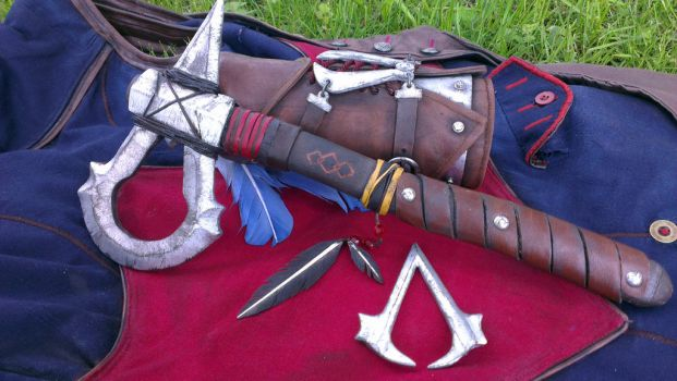 AC3 Connor Kenway: Tomahawk by Pearlite