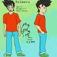 Reimaru Ref Sheet by Ardhamon
