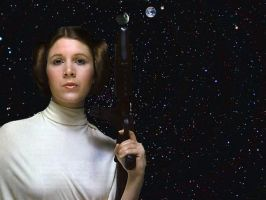 LEIA DEFENDER OF THE EARTH.. by darthbriboy