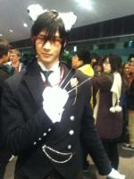 My Sebastian Cosplay!!! by acdc23