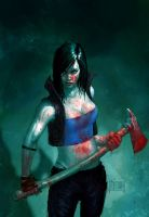 Hack/Slash (Daily Sketch) by Memed