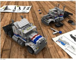 Lego Truck v.2 by L-X