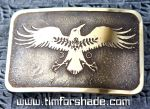 Eternal raven lord of the moon and sun belt buckle by TimforShade