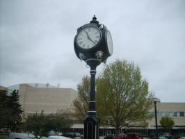 Outdoor Clock by FhynixPhotos