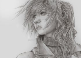 Lightning: Final Fantasy XIII by MyaWho