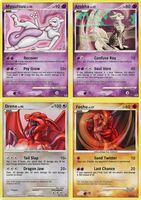 FAKE POKEMON CARDs Nr.2  x4 by ForcesWerwolf