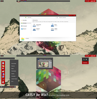 Catly Theme For Windows 7 by Cleodesktop