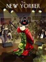 Southern Geisha by motxuel
