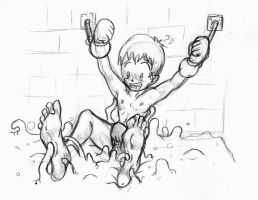 Chamber of goo - sketch by Michio-chan