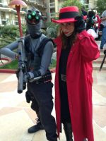 Sam Fisher meets Carmen SanDiego by W4RH0US3