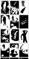 Silhouette Comic by shadowbucket