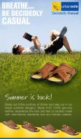 Urban Sole Summer Ad Concept 2 by Naasim