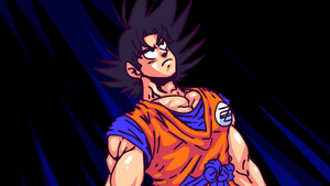 Dragon Ball Zee Goku 2 by GT4tube