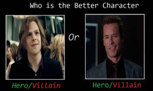 Who is Better Villain DCEU Luthor or MCU Killian by JasonPictures