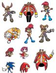 Sonic Characters 4 by michael-bowers