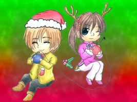 Xmas Chibi Drawing 4 by DarkAngel0267
