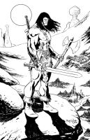 Conan the barbarian by fernandomerlo