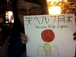 Heaven Help Japan by ZoruAbsol