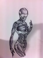 Female crysis character by dragonite838