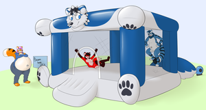 The Best Bounce House Ever by TheHeliumTiger