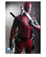 deadpool cosplay by xcomve