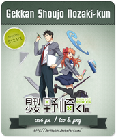 Gekkan Shoujo Nozaki-kun - Anime Icon by Darklephise