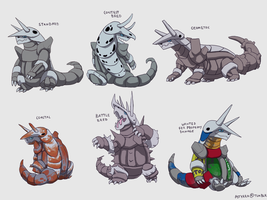 Aggron Variations