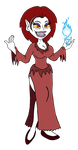 Lonestar Villain - Callidora the Vampiric Witch by ScottMcArthur8